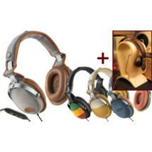 Marley (EM-JH063-CM) Rise Up CARAMEL fejhallgató, iOS + ajándék fejhallgató álvány