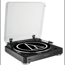 Audio-Technica AT-LP60BT Automata Lemezjátszó Bluetooth kapcsolattal - Fekete