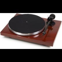 Pro-Ject 1 Xpression Carbon Classic analóg lemezjátszó Mahagóni Ortofon 2M-SILVER hangszedővel