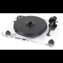 Pro-Ject 2 Xperience Classic Acryl analóg lemezjátszó Ortofon 2M-SILVER MM hangszedővel szerelve
