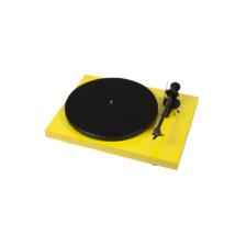 Pro-Ject Debut Carbon Phono USB DC lemezjátszó (Ortofon OM 10 hangszedővel) sárga