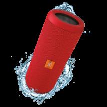 JBL Flip 3 vízálló bluetooth hangszóró, piros