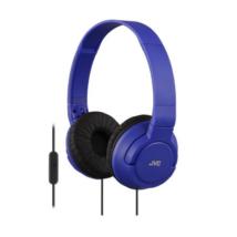 JVC HA-SR185A COLOURFUL LIGHTWEIGHT mikrofonos fejhallgató kék
