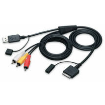 JVC KS-U20 USB Audio/Video kábel iPod-hoz