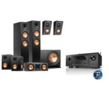 Klipsch RP-260F 5.1.2 Dolby Atmos szett + ajándék Denon AVR-X2300W