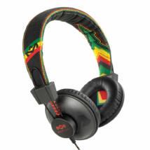 Marley (EM-JH011-RA) Positive Vibration RASTA fejhallgató