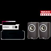Yamaha R-N500 + Tannoy DC6