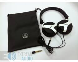 AKG K518 DJ fejhallgató, fehér