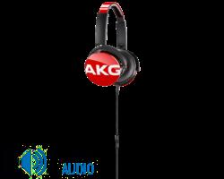 AKG Y50 fejhallgató, piros