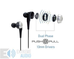 Audio-Technica ATH-CKR9 SonicPro Hallójárati Prémium Fülhallgató