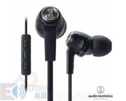 Audio-Technica ATH-CK323i fekete fülhallgató