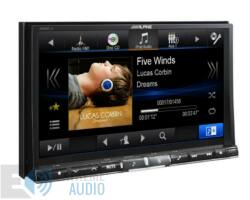 ALPINE X800D-U Fejlett navigációs rendszer