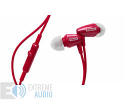 Klipsch R3M mikrofonos fülhallgató piros