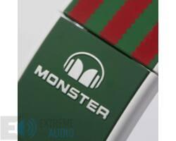 Monster ADIDAS OVER-EAR ZÖLD-PIROS fejhallgató