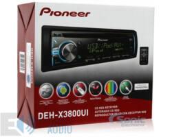 Pioneer DEH-X3800UI autóhifi fejegység