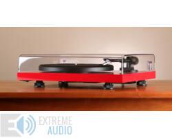 Pro-Ject Debut III DC Esprit lemezjátszó Ortofon OM-10E hangszedővel szerelve piros