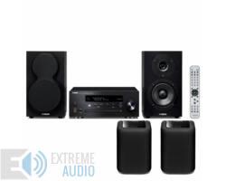 Yamaha MCR-N470D MusicCast Mikro Hi-Fi rendszer + 2db WX-010 zóna lejátszó