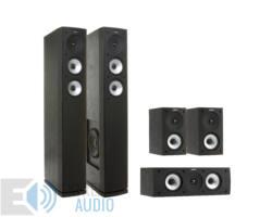 Jamo S 626 HCS 5.0 fekete + SUB210 mélysugárzó és Yamaha RX-V481 fekete 5.1 házimozi szett