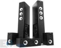 Jamo S 628 HCS 5.0 fekete kőris hangfalszett + Yamaha HTR-4069 5.1 erősítő