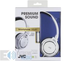 JVC HA-SR525W Premium Sound mikrofonos fejhallgató fehér
