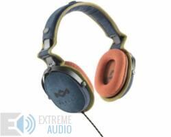 Marley (EM-JH063-BD) Rise Up BLUE fejhallgató, iOS + ajándék fejhallgató álvány