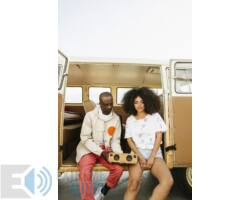 Marley Get Together Mini EM-JA013 hordozható bluetooth hangszóró denim