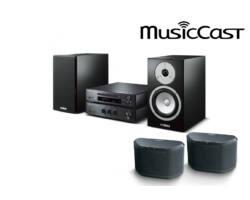 Yamaha MCR-N670 Mikro Hi-Fi + 2db WX-030 MusicCast zóna hangszóró