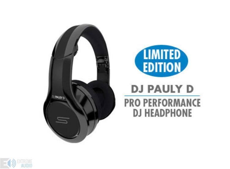 SMS Audio DJ Pauly D Pro DJ (DJ-BLK) fejhallgató DEMO