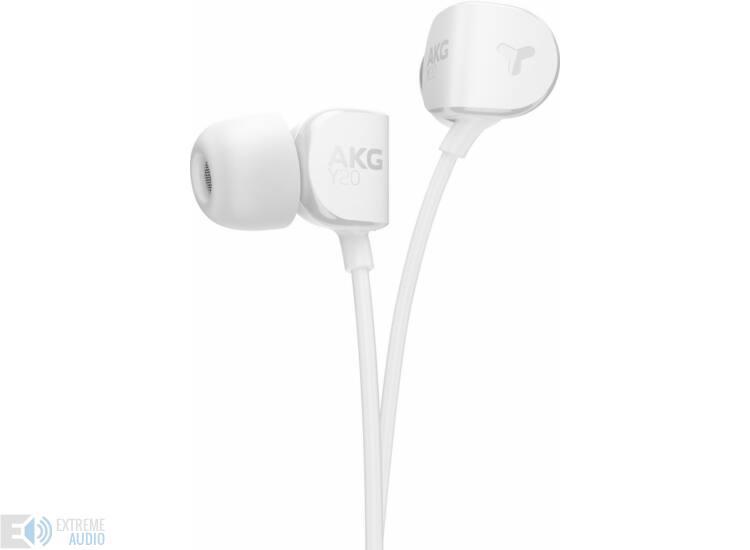 AKG Y20  fülhallgató fehér