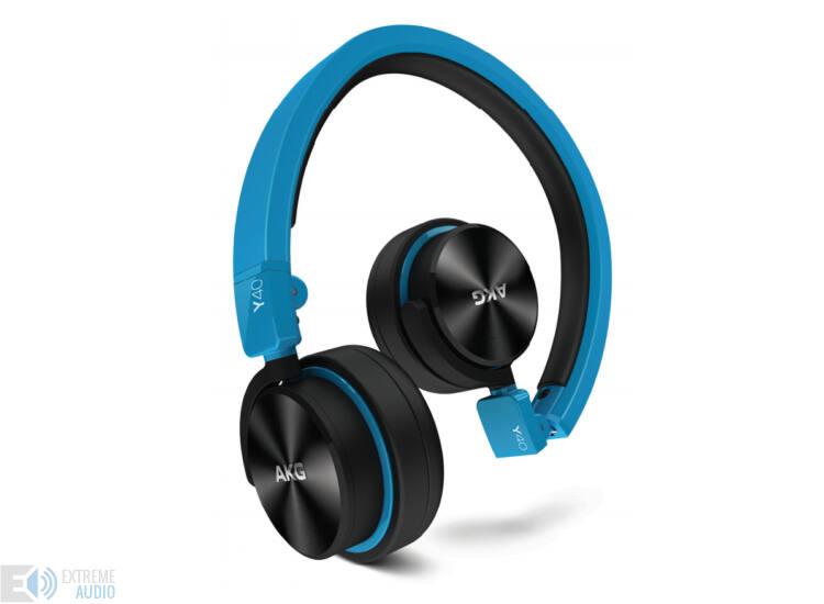 AKG Y40 fejhallgató, kék DEMO