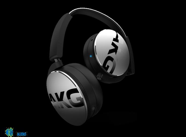 AKG Y50 BT Bluetooth fejhallgató, ezüst