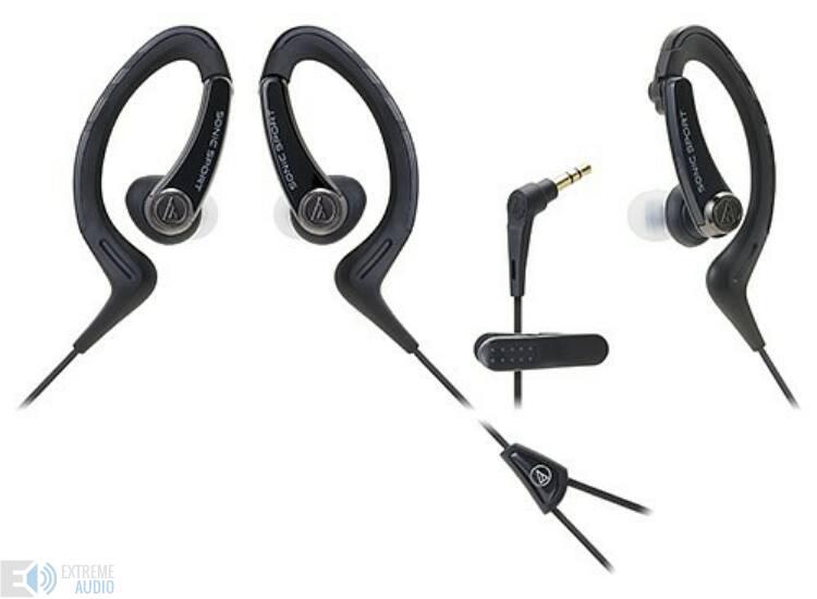 Audio-technica ATH-SPORT1BK sport füllhallgató