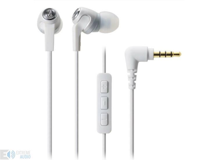 Audio-Technica ATH-CK323i fehér fülhallgató