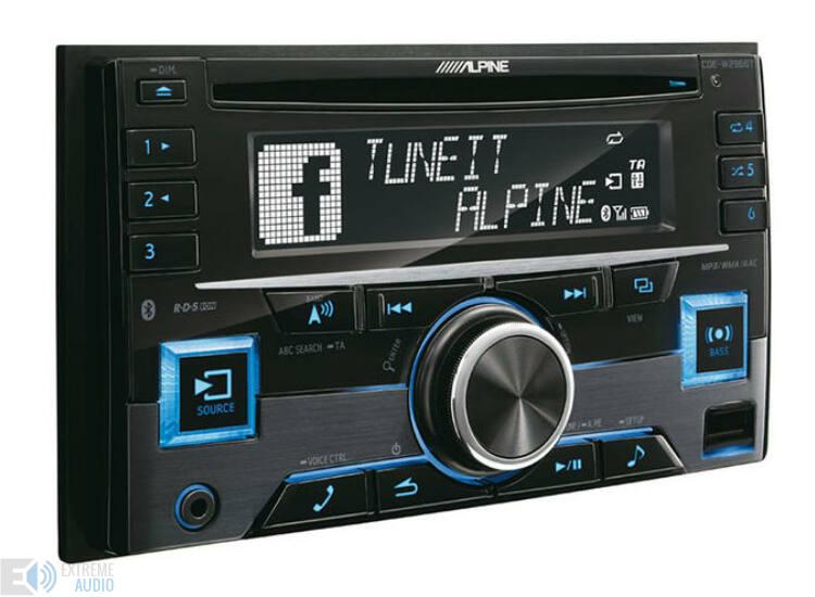 Alpine CDE-W296BT autóhifi fejegység