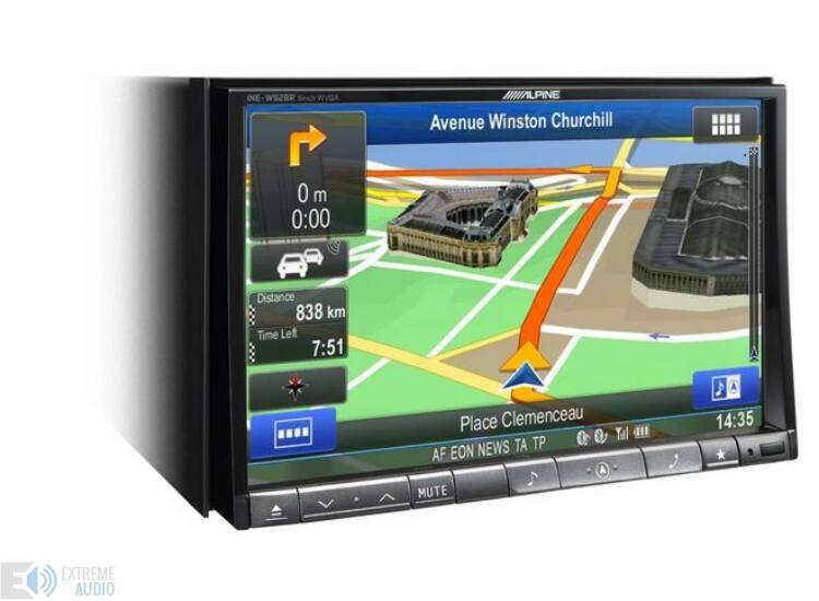 Alpine INE-W928R Fejlett navigációs rendszer