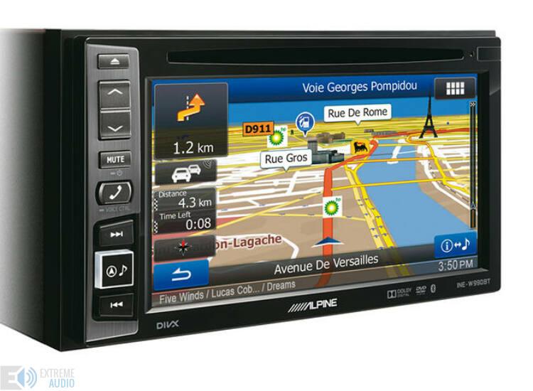 Alpine INE-W990BT Fejlett navigációs rendszer