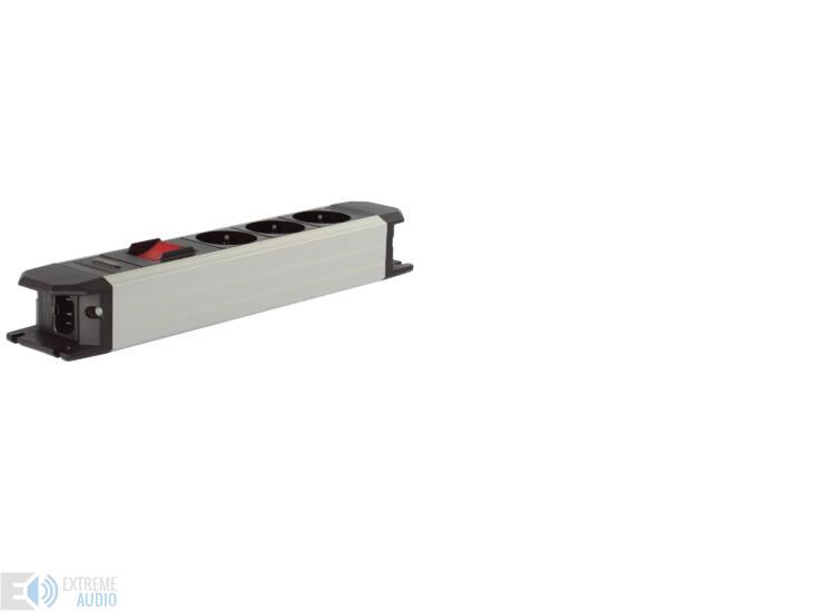 Goldkabel Powerline FLEX 3 tápelosztó főkapcsolóval