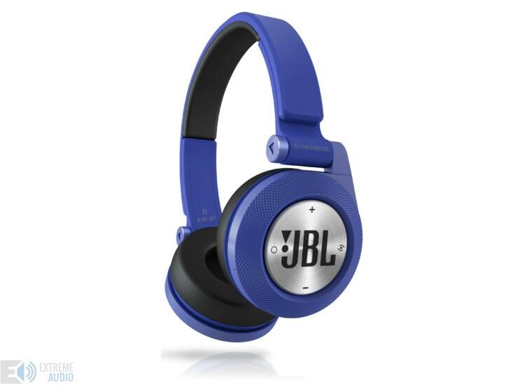 JBL Synchros E40 Bluetooth fejhallgató, kék