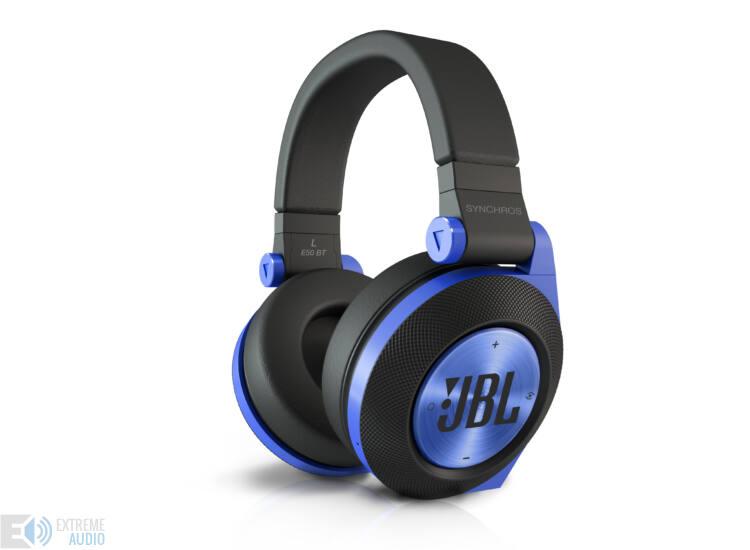 JBL Synchros E50 Bluetooth fejhallgató, kék