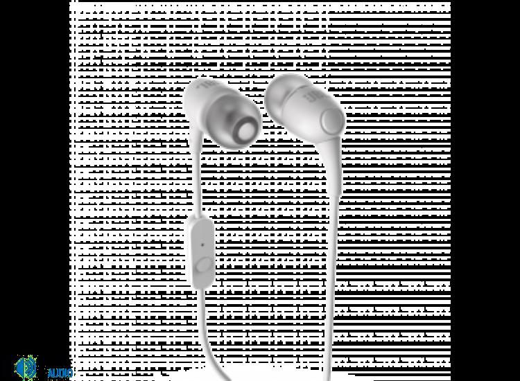 JBL T100 fülhallgató, fehér