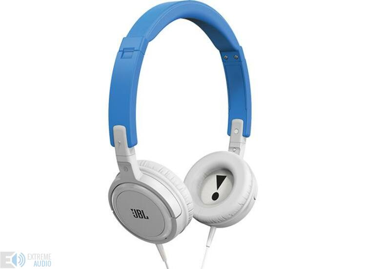 JBL T300 fejhallgató, kék (DEMO)