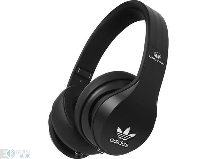 Monster ADIDAS OVER-EAR BLACK fejhallgató