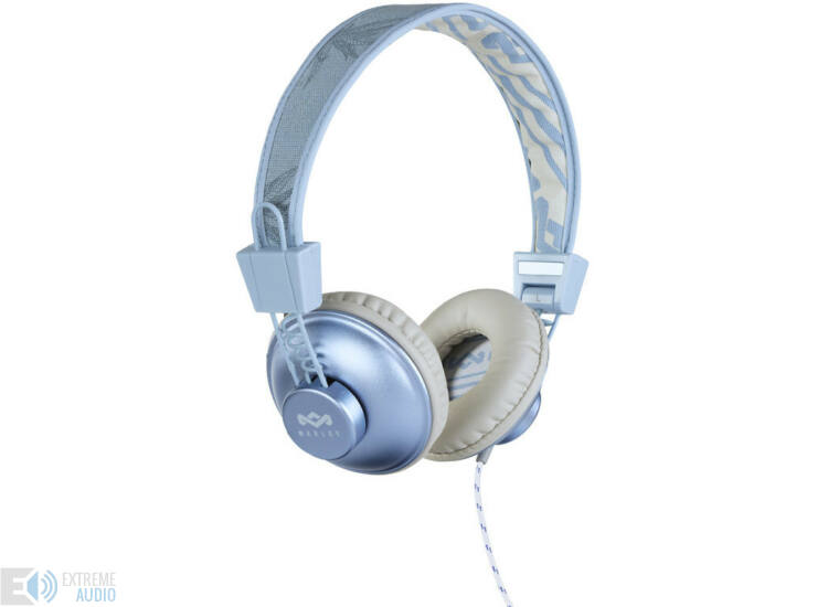 Marley (EM-JH011-BH) Positive Vibration Dubwise fejhallgató kék kender