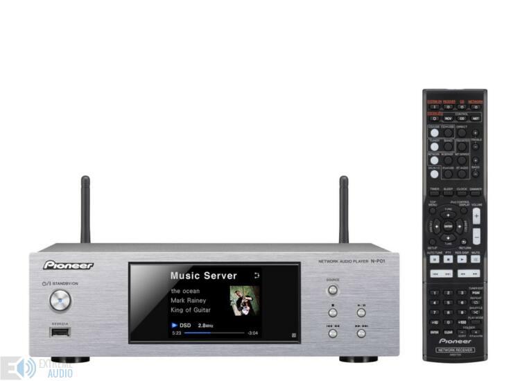 Pioneer N-P01 Hálózati audió lejátszó ezüst