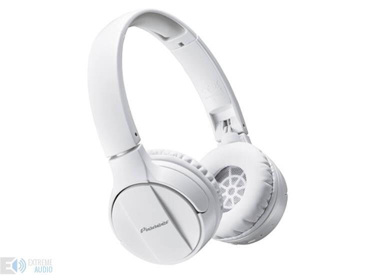 Pioneer SE MJ 553BT-K Bluetooth fejhallgató fehér