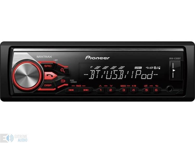 Pioneer MVH-X380BT cd mechanika nélküli autohifi fejegység