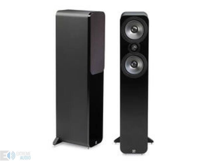Q-Acoustics 3050 Black Leather Álló hangsugárzó