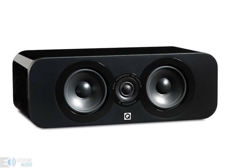 Qacoustics 3090C Center hangsugárzó lakk fekete
