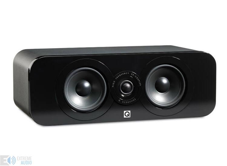 Qacoustics 3090C Center hangsugárzó fekete bőr