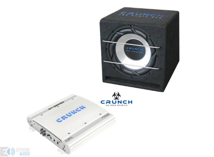 CRUNCH GTI2200 + CRB350 autó hi-fi szett